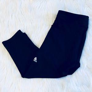 ❗️Adidas ClimaLite Black Leggings MSRP $110!